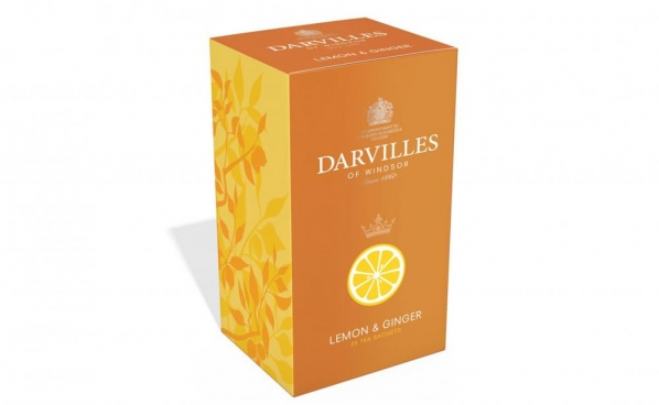 Darvilles Lemon & Ginger Teabags photo