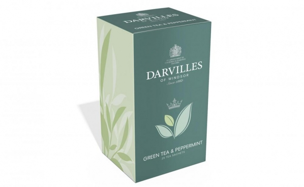 Darvilles Green Tea & Peppermint Teabags photo